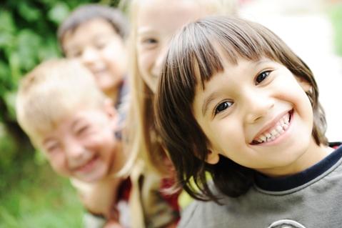երեխաներ ուրախ